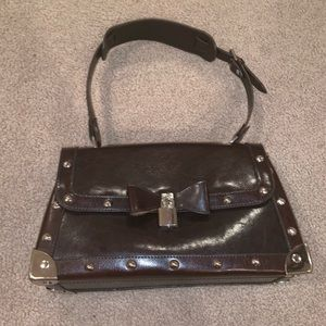 Vintage Gucci Brown Leather Purse